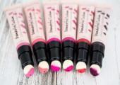 丝芙兰奇幻薄纱气垫唇彩色号有哪些,唇膏和唇彩有什么区别