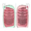 兰蔻粉水真假对比,瓶身花纹,颜色,LOGO,缝隙