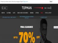 美国时尚男装品牌Topman官网海淘攻略,Topman下单注册教程