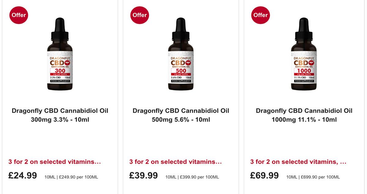 英国有哪些大麻二酚CBD产品,大麻二酚有什么用?