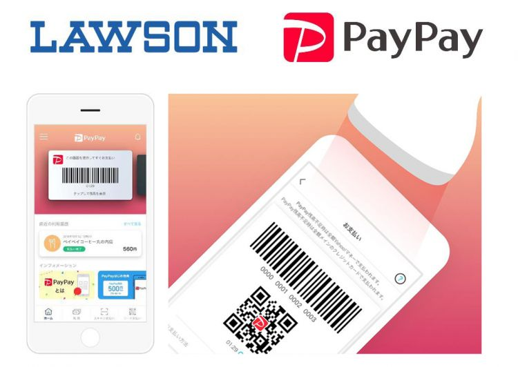 日本LAWSON便利店支持PayPay付款