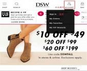 DSW美国官网海淘攻略购物下单注册教程