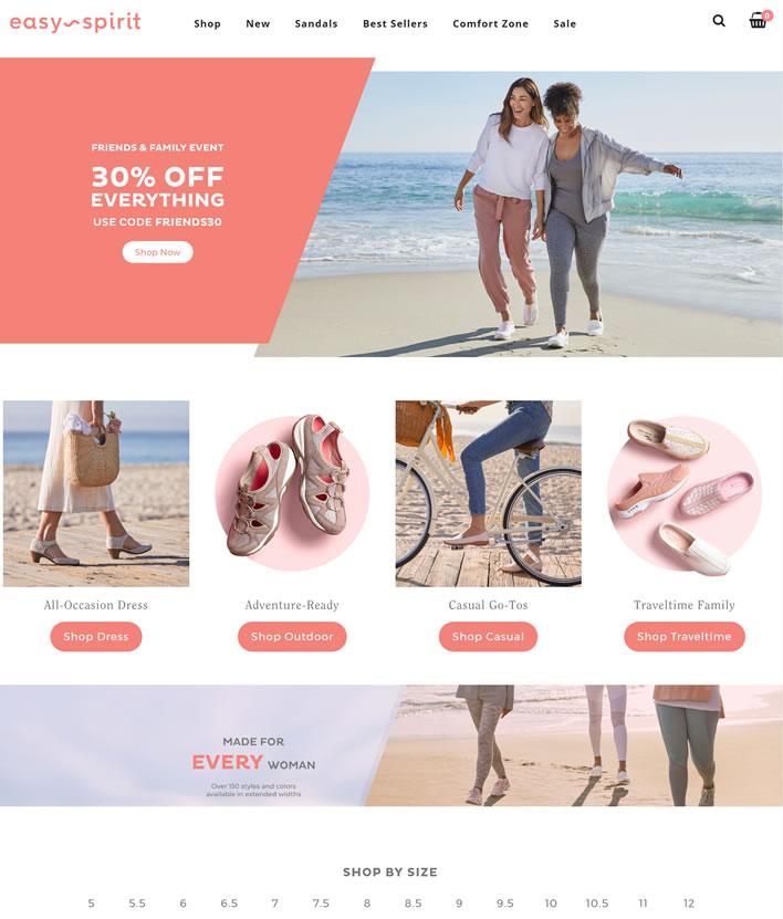 Easy Spirit官网:美国休闲鞋履中的代表品牌