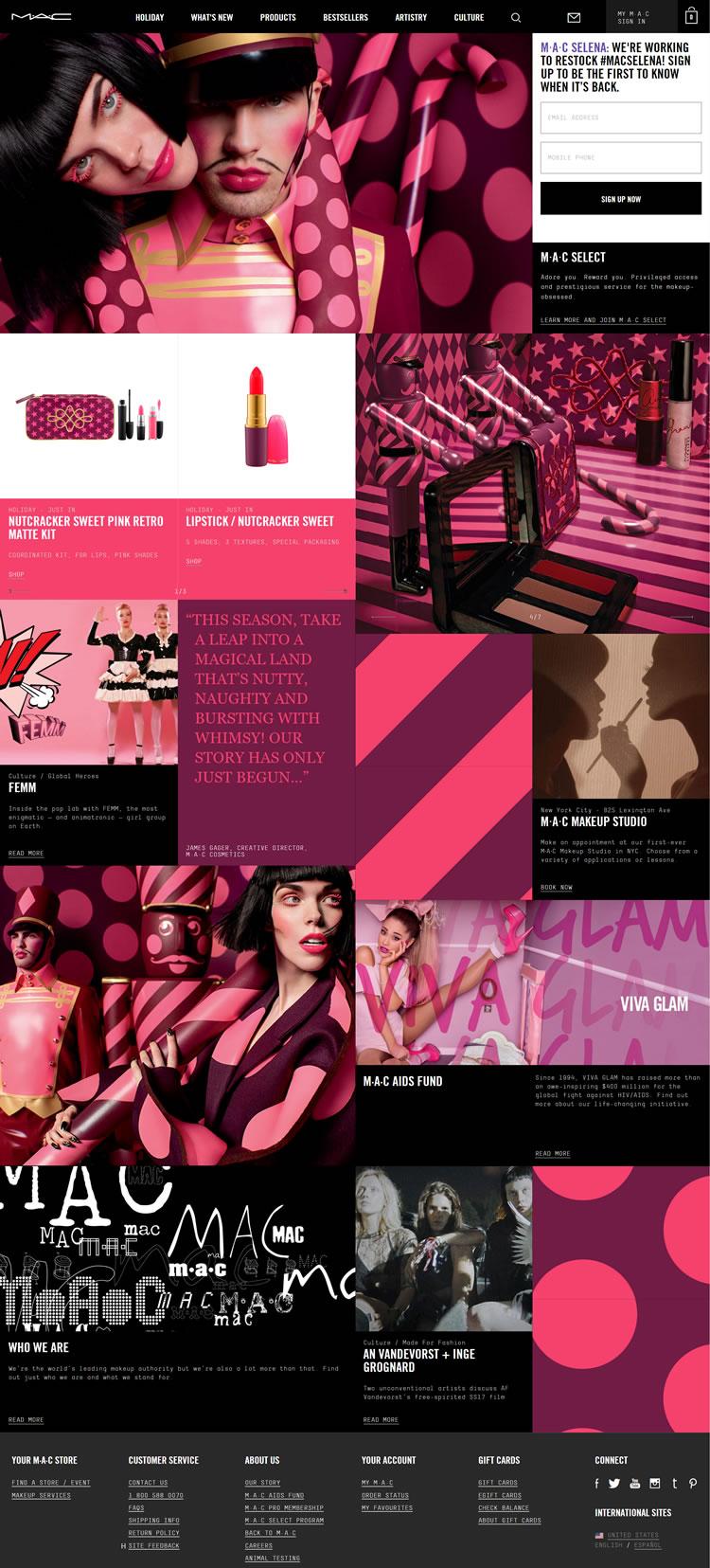 MAC Comestic官方网站:魅力专业艺术化妆