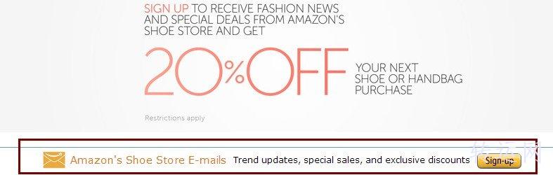 Amazon美国亚马逊服装鞋类8折优惠码免费领取详解