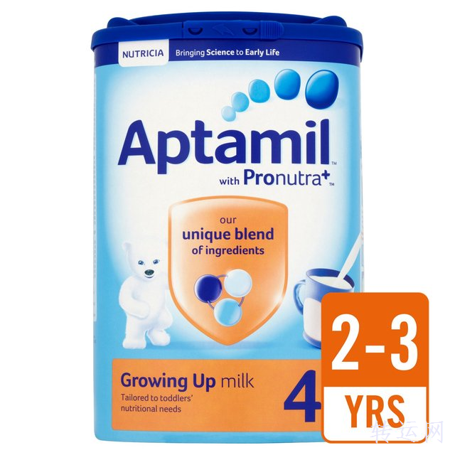 英国原装Aptamil爱他美奶粉, 4段全解析