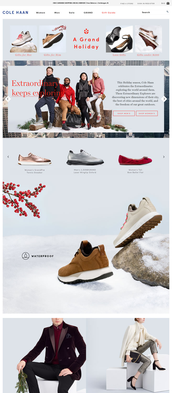 美国时尚潮流品牌:ColeHaan
