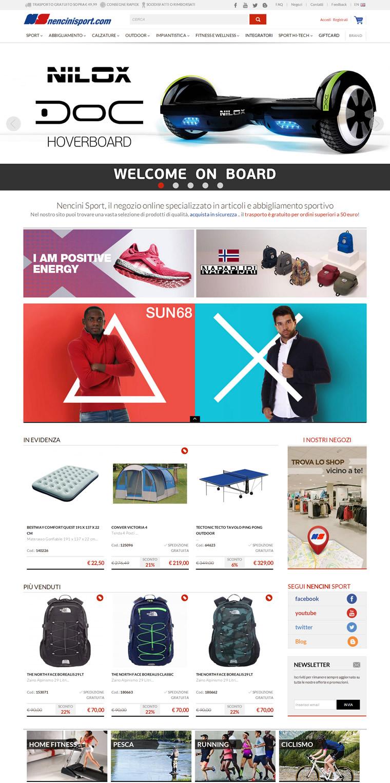 意大利体育用品网上商城:Nencini Sport