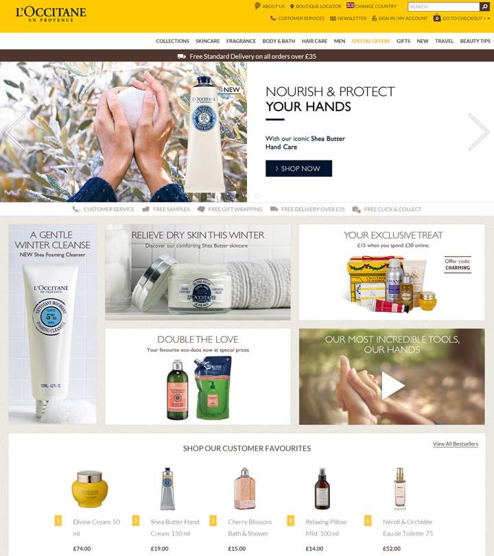 欧舒丹英国官网:购买欧舒丹护手霜等明星产品