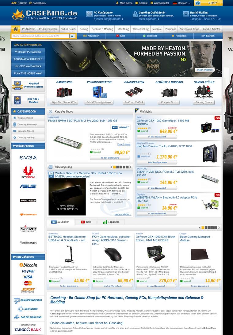 德国PC硬件网站:CASEKING
