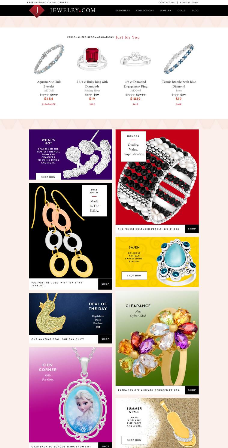 美国最大的珠宝首饰网上商城:Jewelry.com