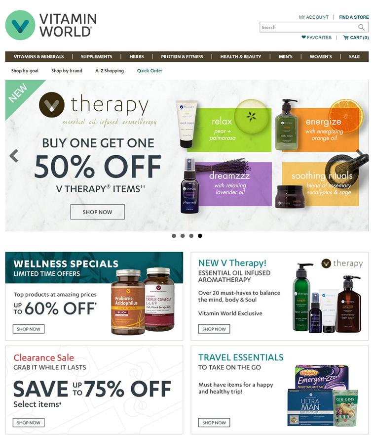 美国家喻户晓的保健品品牌:Vitamin World(维他命世界)