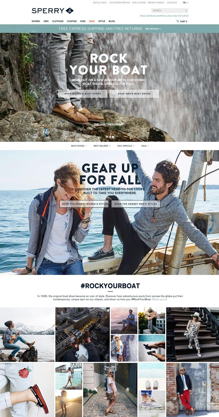 帆船鞋创始品牌:Sperry