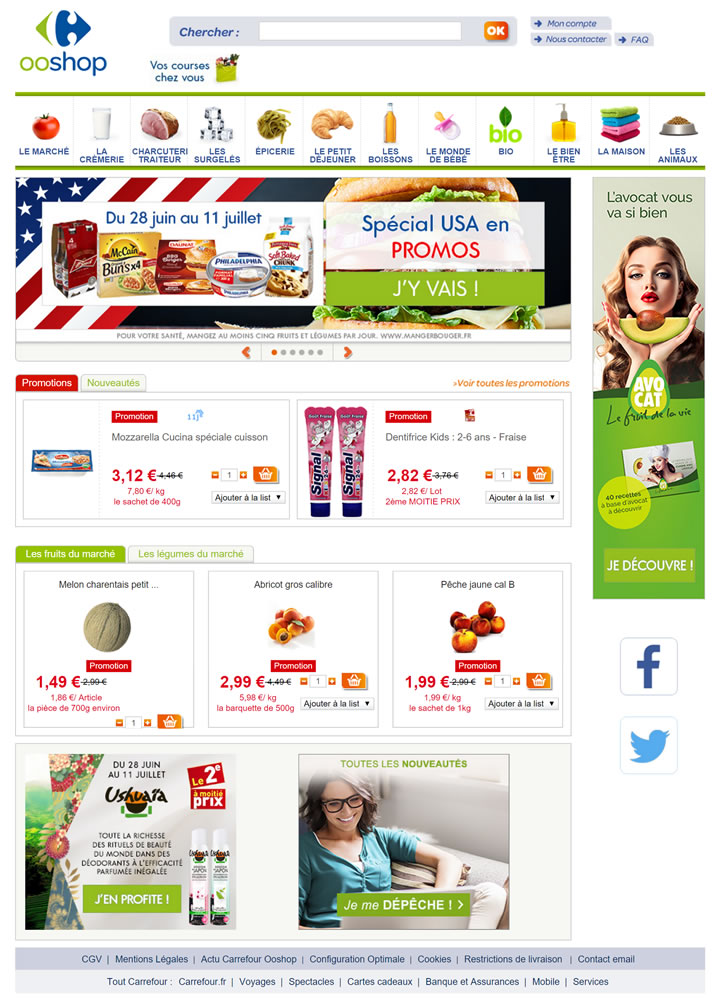 法国家乐福网上购物:Carrefour法国