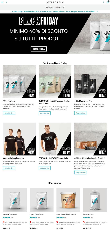 Myprotein意大利官网:欧洲第一运动营养品牌