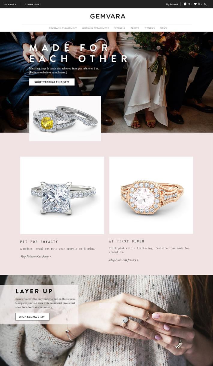 美国知名珠宝首饰品牌:Gemvara