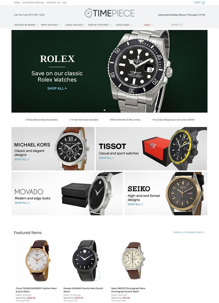 美国著名手表网站:Timepiece