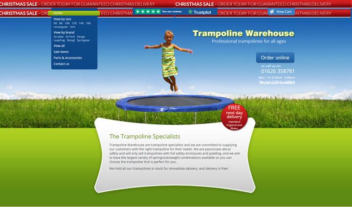 蹦床仓库:Trampoline Warehouse