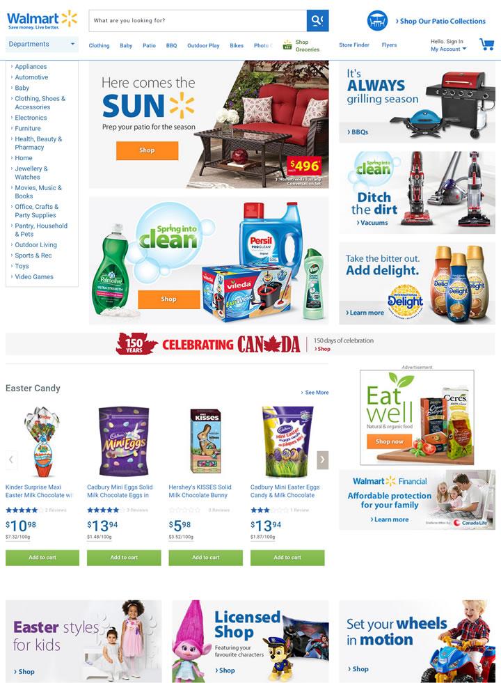 沃尔玛加拿大:Walmart.ca