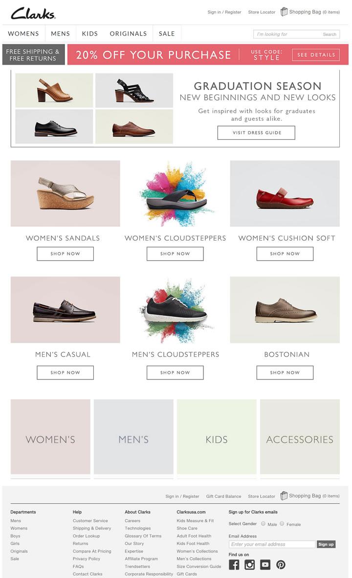 Clarks鞋美国官网:全球领军鞋履品牌