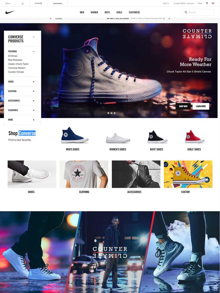 匡威帆布鞋美国官网:Converse美国