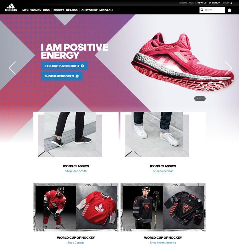 阿迪达斯加拿大官网:Adidas加拿大