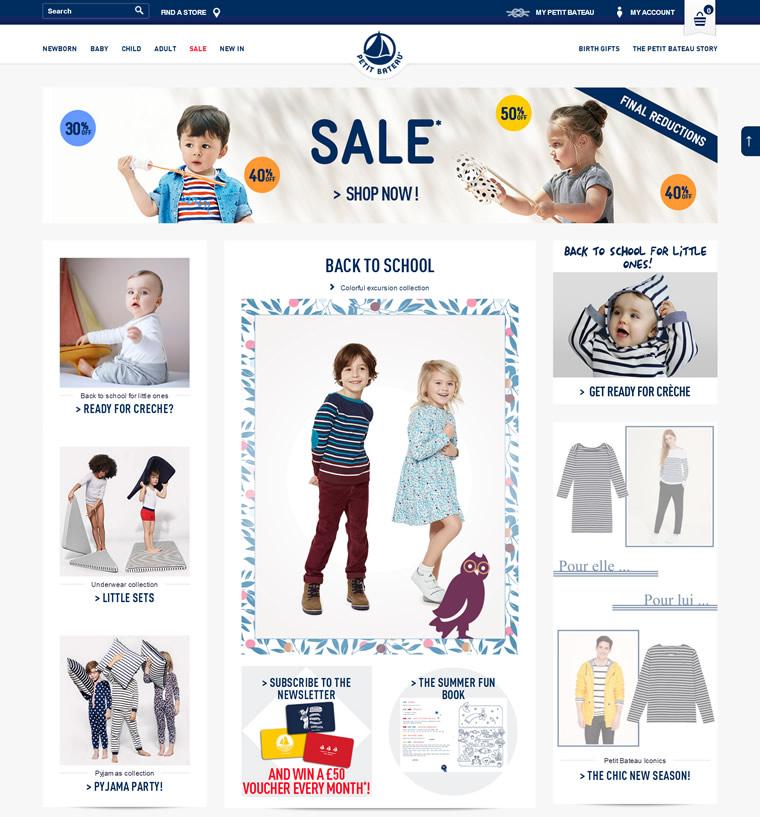 欧洲最大的婴幼儿服装及内衣公司:Petit Bateau(小帆船)