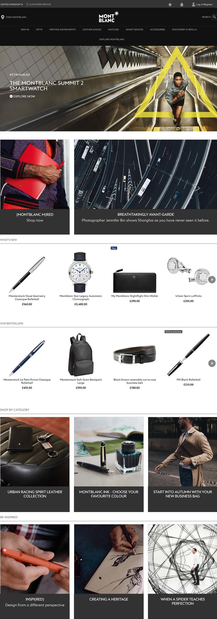 万宝龙英国官网:Montblanc手表、书写工具、皮革和珠宝