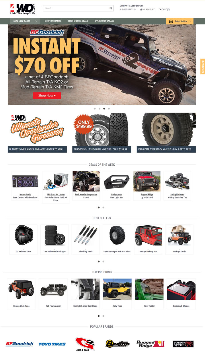 Jeep牧马人、切诺基和自由人零配件:4 Wheel Drive Hardware