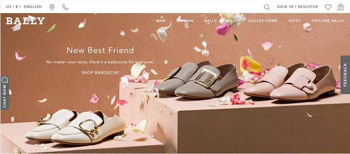 Bally美国官网:经典瑞士鞋履、手袋及配饰奢侈品牌