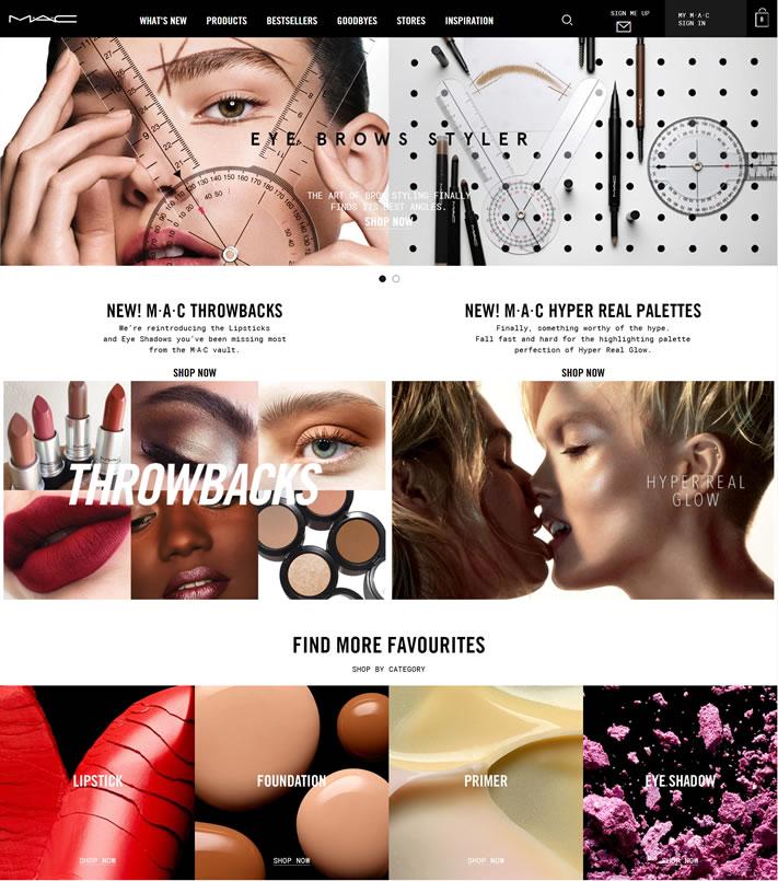 MAC彩妆英国官网:M·A·C UK