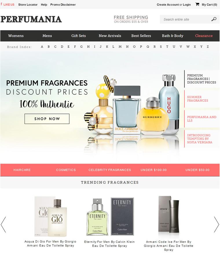 美国最大的香水连锁店官网:Perfumania
