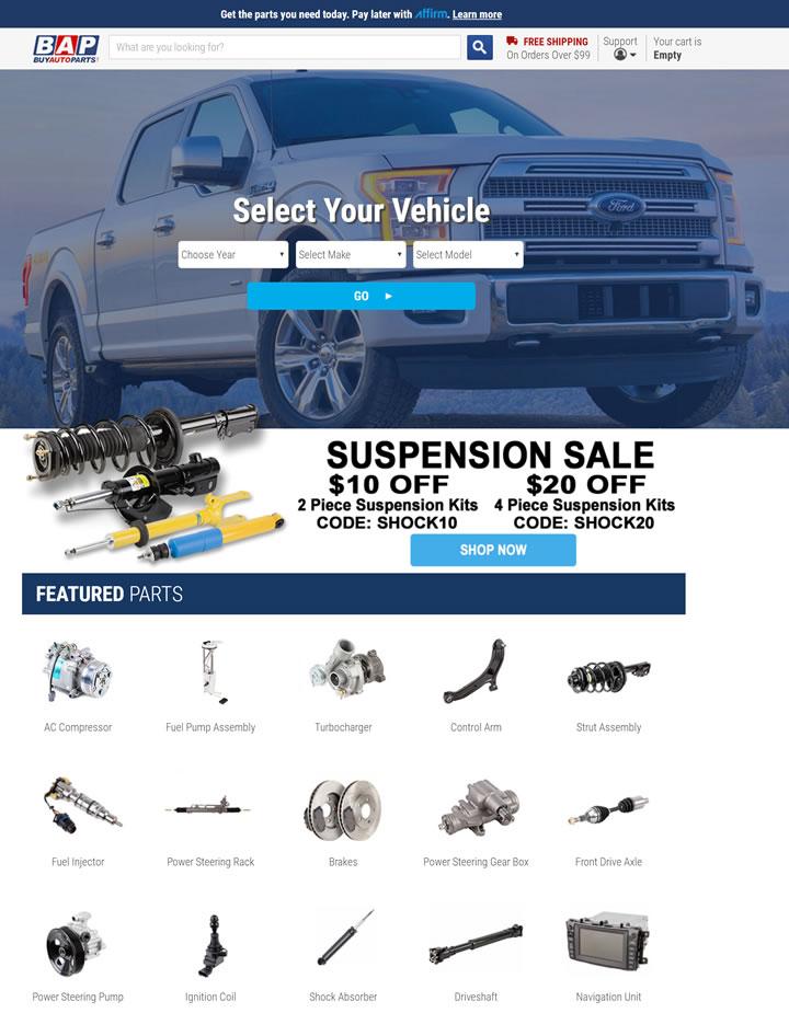 美国购买汽车零件网站:Buy Auto Parts
