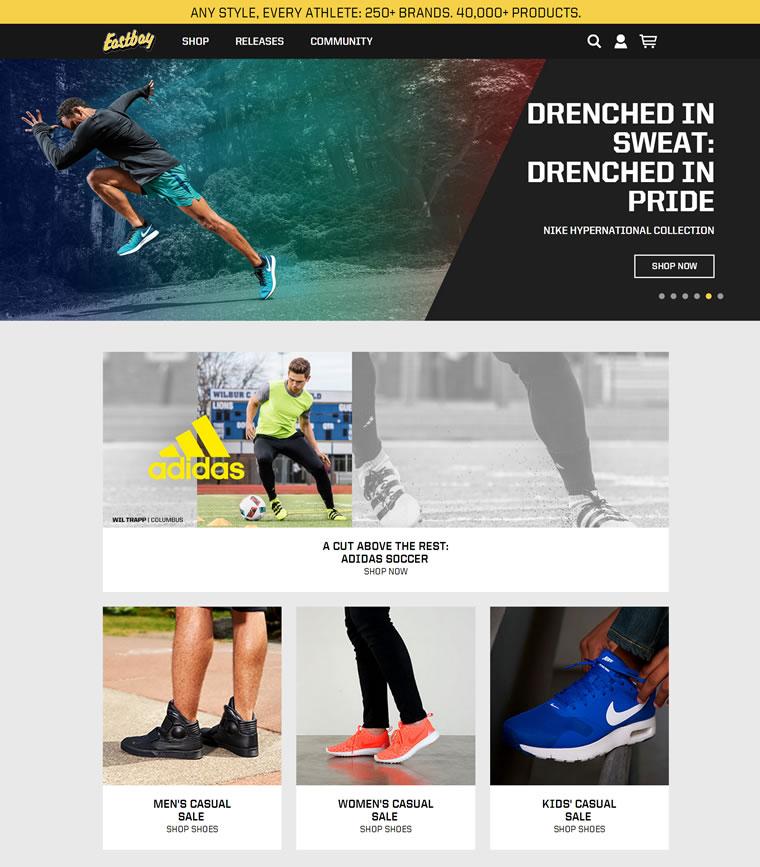 Eastbay官网:美国最大的运动鞋网络零售商