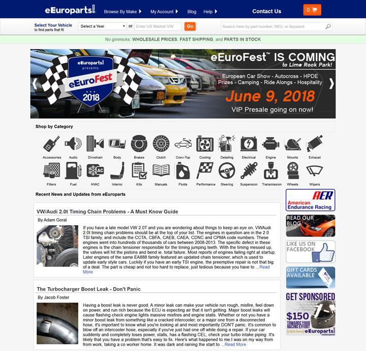 欧洲汽车零部件网:European Auto Parts
