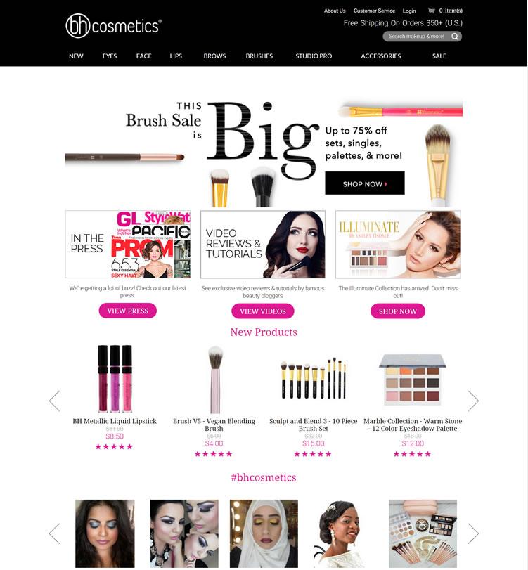 美国受欢迎的眼影品牌:BH Cosmetics