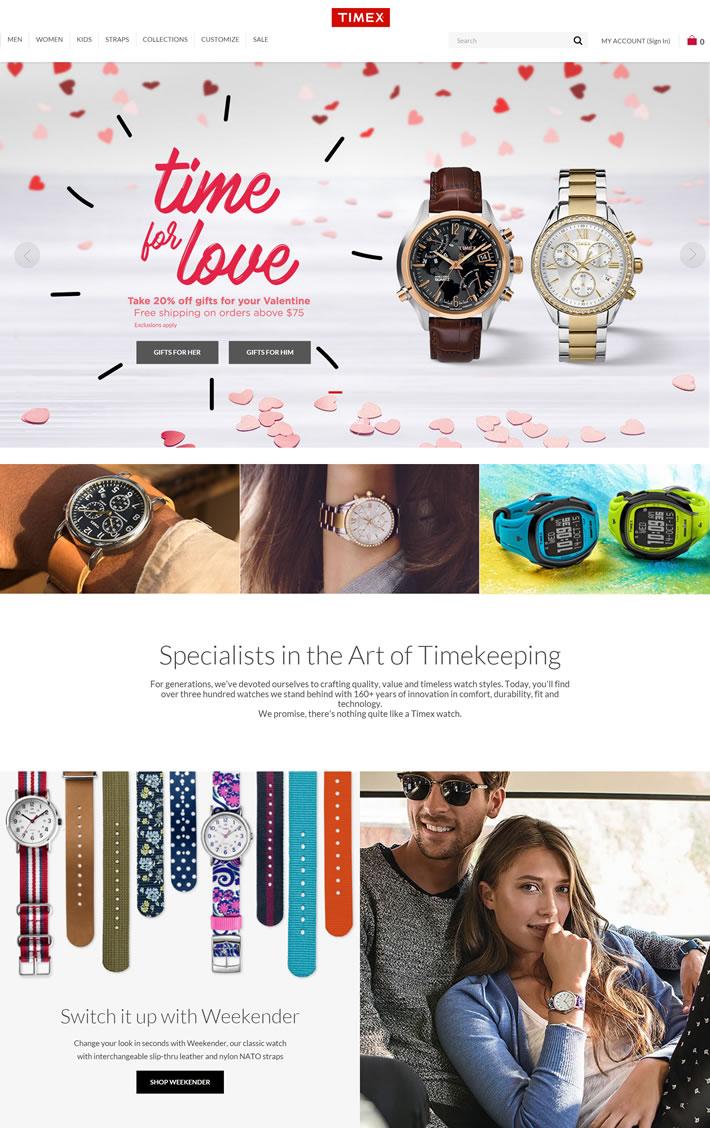 Timex手表官网:美国运动休闲手表品牌