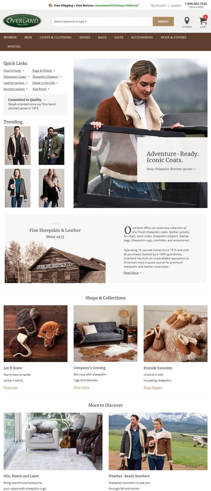 美国羊皮公司:Overland