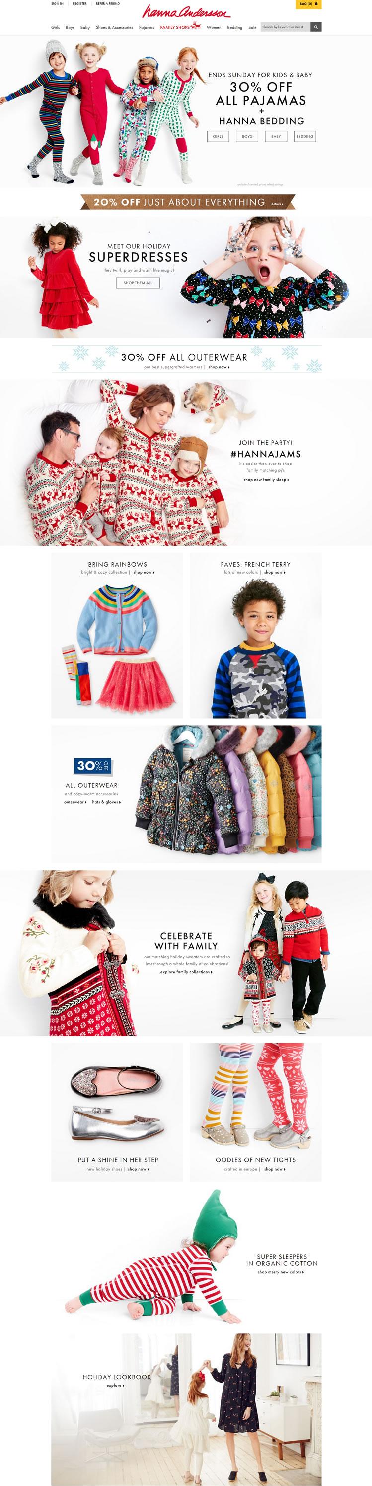 美国高端婴童品牌:Hanna Andersson