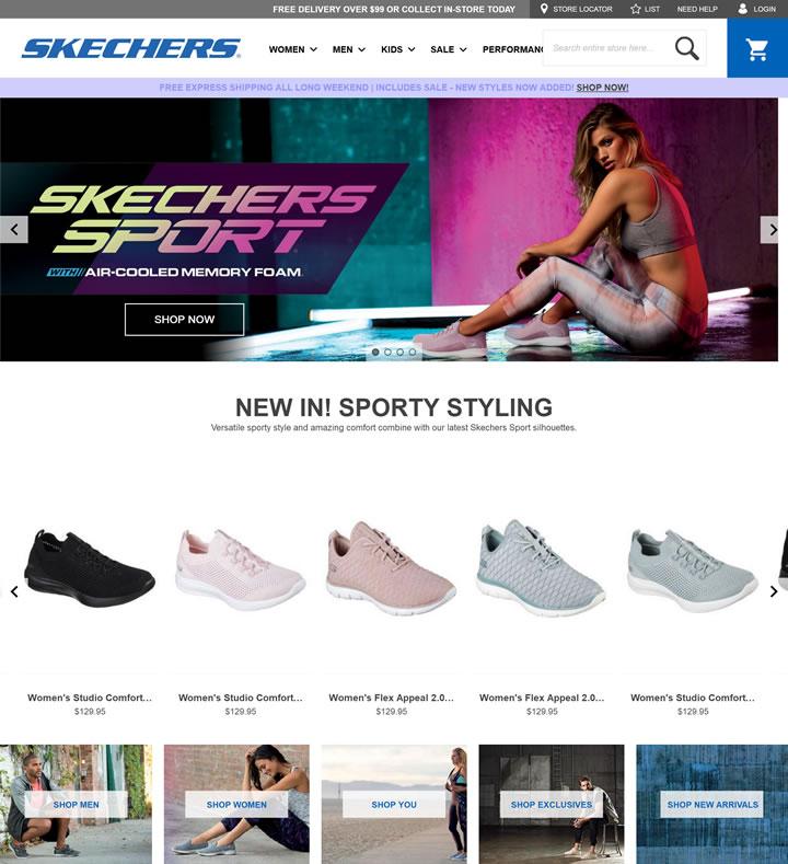 斯凯奇澳大利亚官网:SKECHERS澳大利亚