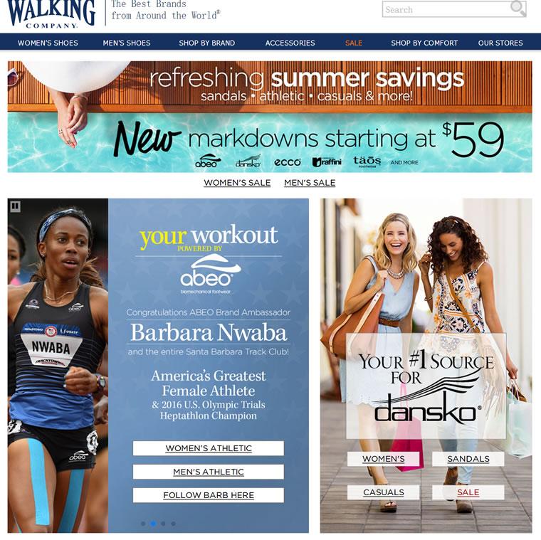全球领先的鞋类零售商:The Walking Company