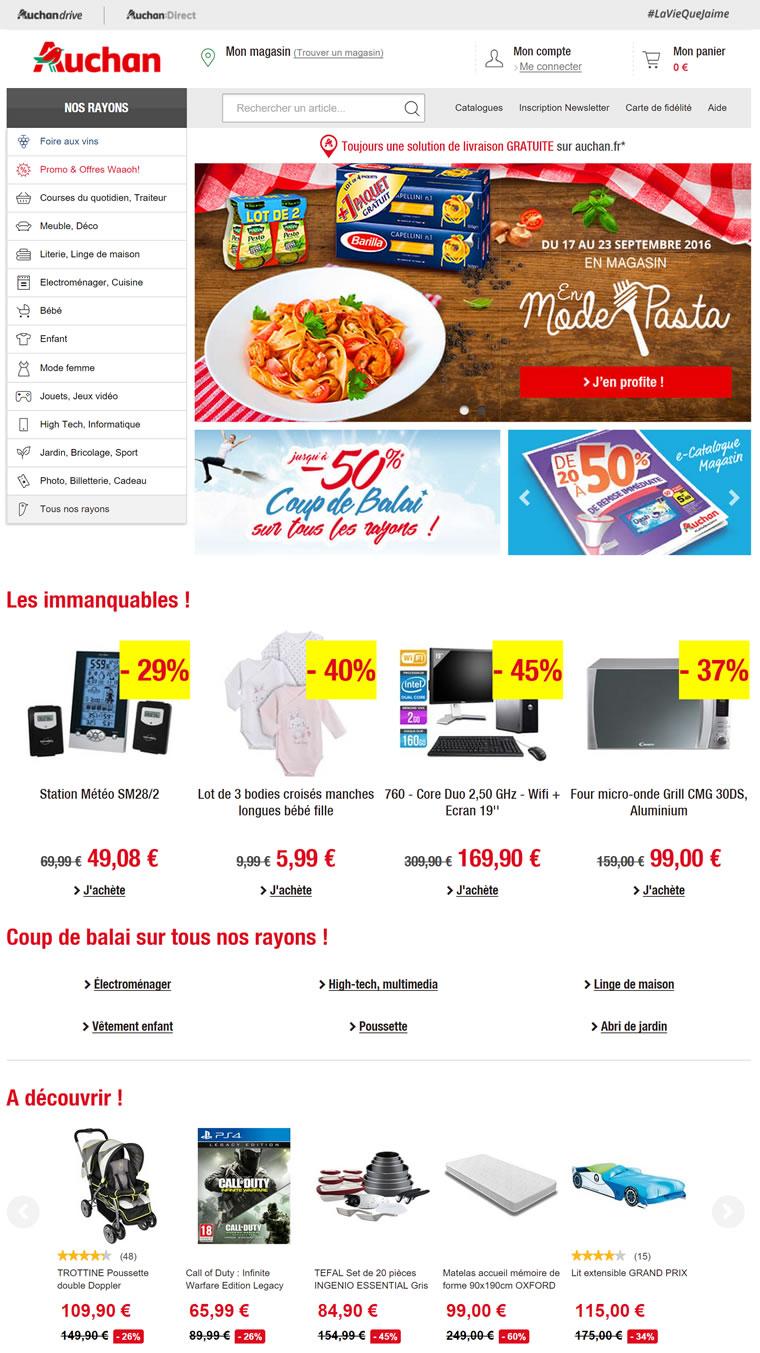 法国欧尚网上超市:Auchan