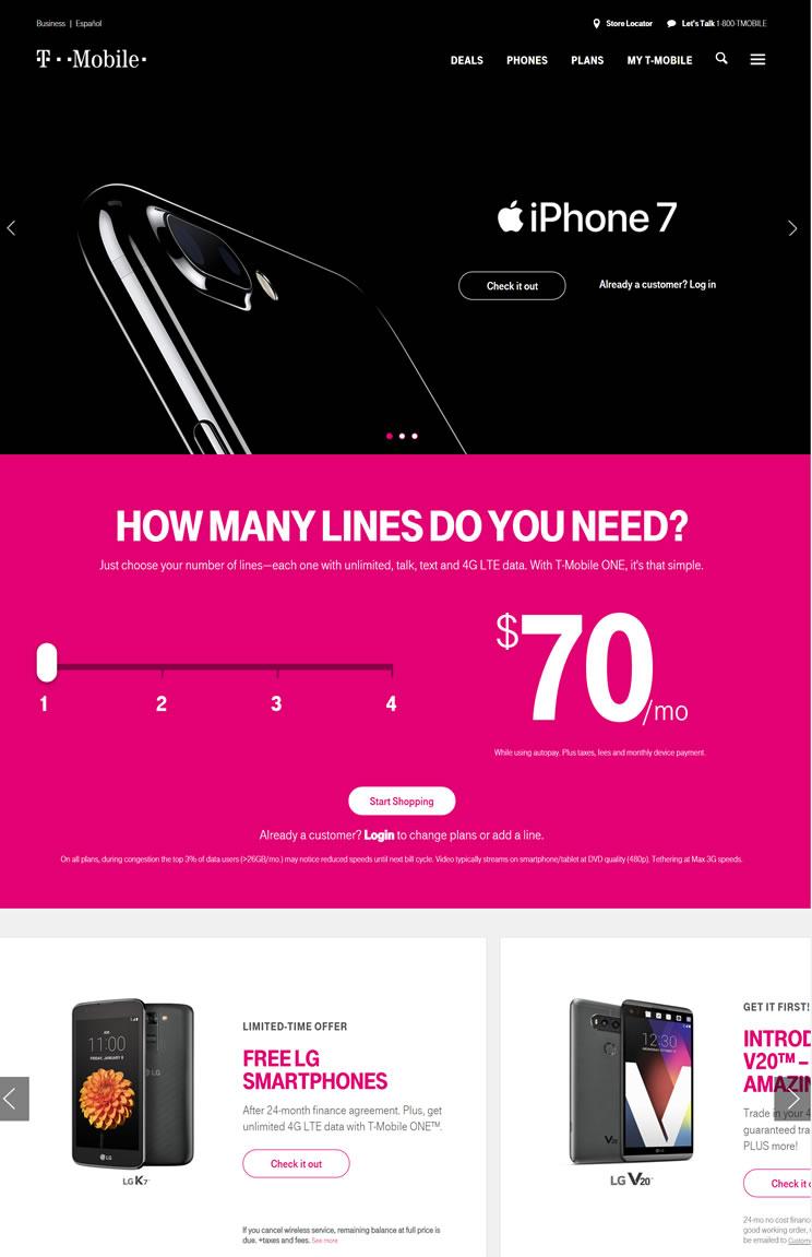 美国第三大移动运营商:T-Mobile USA