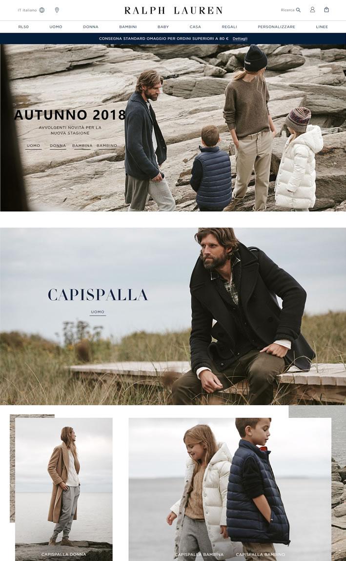 Ralph Lauren意大利官方网站:时尚界最负盛名的品牌之一