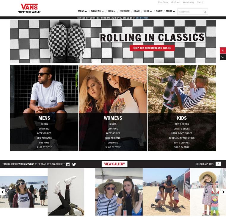 美国南加州的原创极限运动潮牌:Vans(范斯)