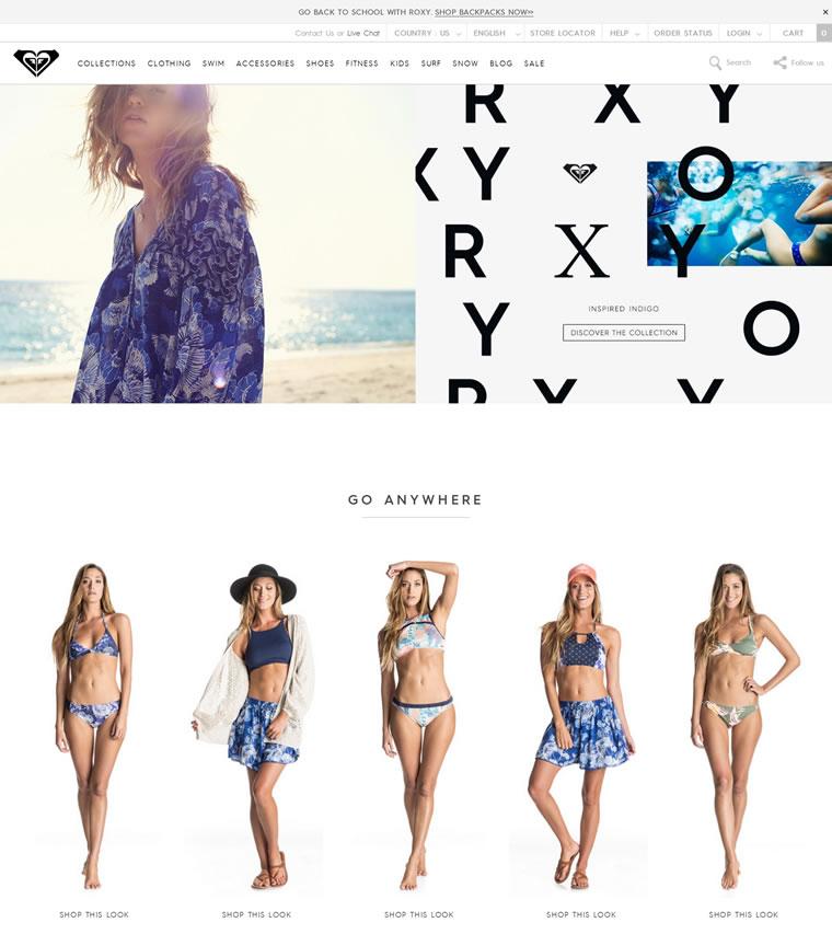 Roxy美国官网:澳大利亚冲浪、滑雪健身品牌