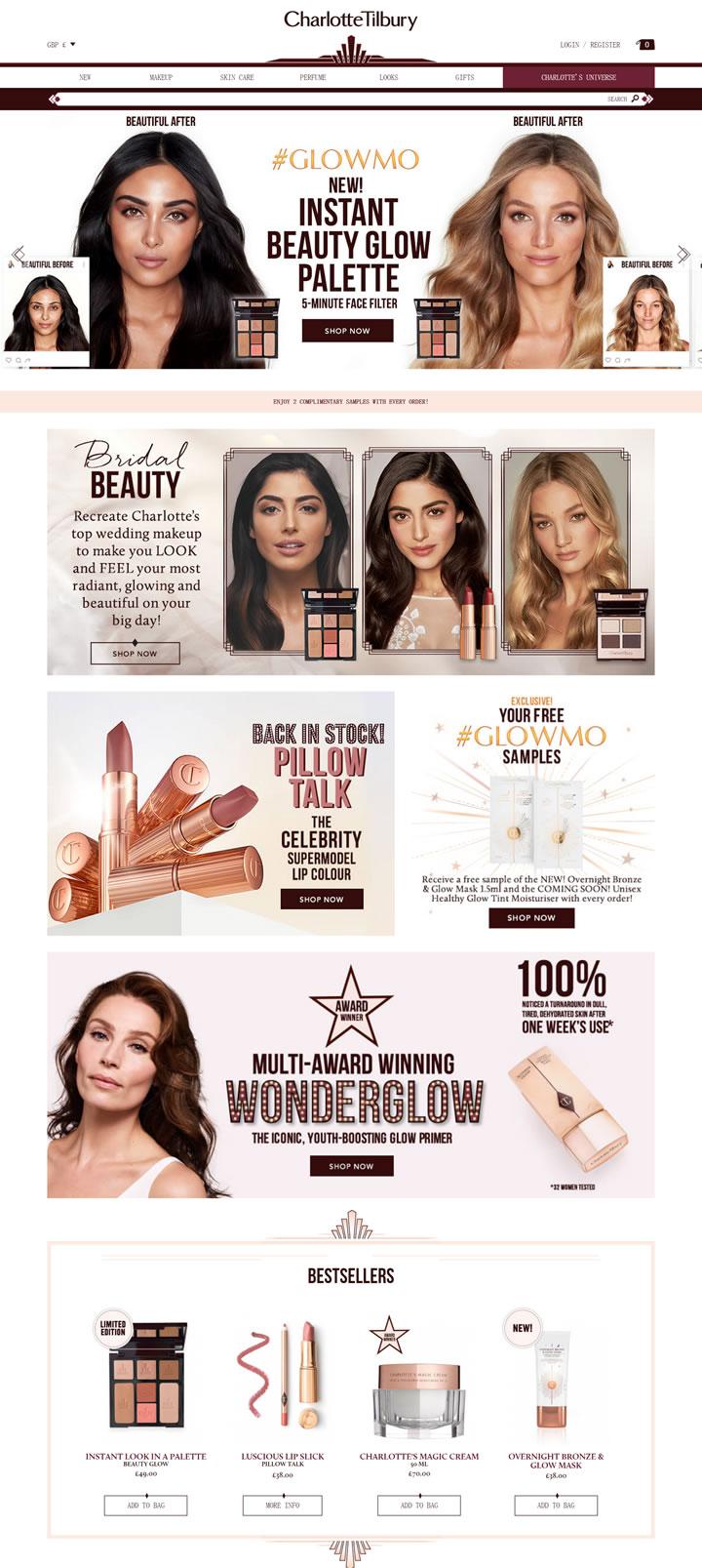 Charlotte Tilbury英国官网:英国彩妆品牌