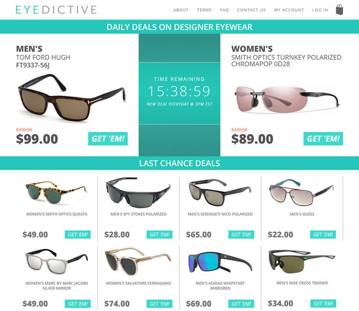 美国名牌太阳镜折扣网站:Eyedictive