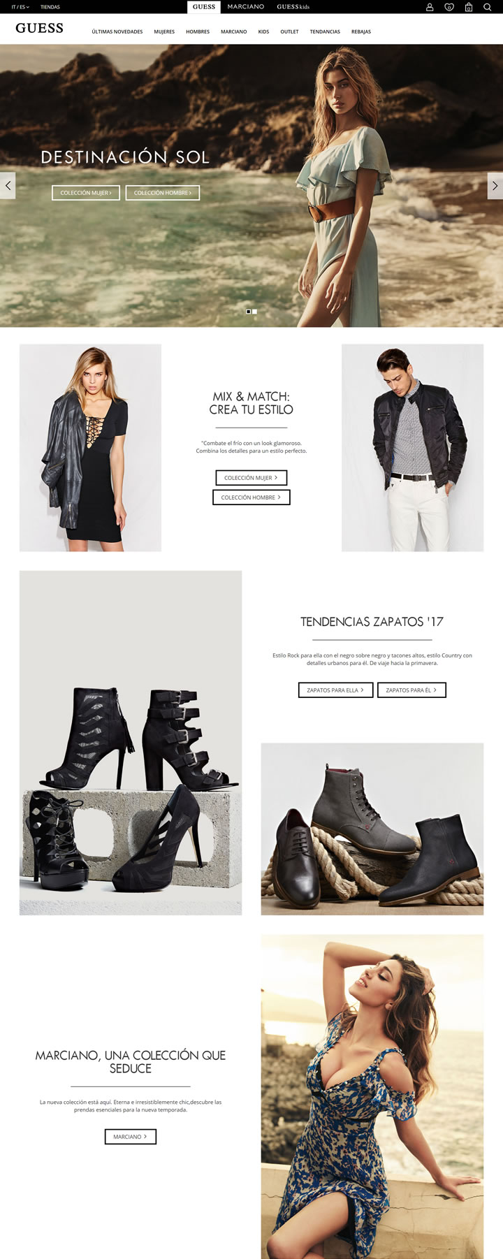 GUESS西班牙官方网上商城:美国服饰品牌