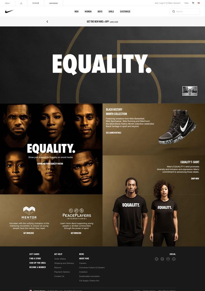 耐克美国官网:Nike.com